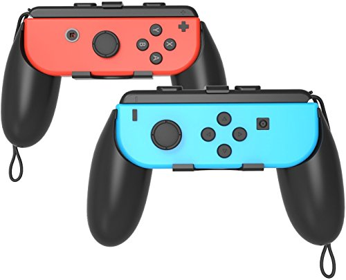 Gh Nintendo Switch Joy Con Grip   Switch Grip For Joy Con Handle   2 Pack  Blackx2