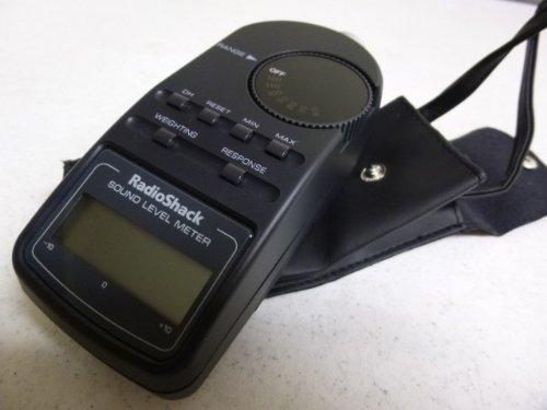 Radio Shack Digital Sound Level Meter, Home Improvement Tool (Radio Shack Sound Meter)