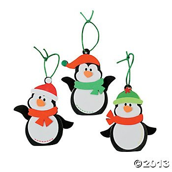 Penguin Foam Ornament Craft Kit/Christmas/Craft Kits/Art & Crafts/Toys/Ornaments