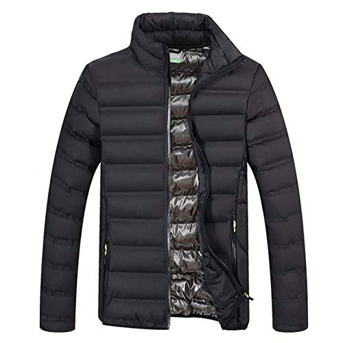 - Warm Clothes Plus Size, Simayixx Men's Classic Packable Insulated Light Weight Puffer Down Jacket Windbreaker