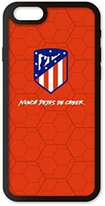 PHONECASES3D Funda móvil Atlético de Madrid Nunca Dejes de Creer Compatible con iPhone 6/6s. Carcasa de TPU de Alta protección. Funda Antideslizante, Anti choques y caídas.: Amazon.es: Electrónica