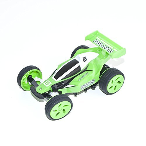 Electric Power RC Off Road Buggy, Green 1/32 Scale ()