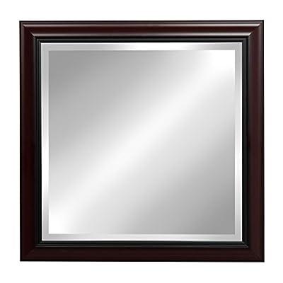 Kate and Laurel Dalat Framed Beveled Wall Mirror