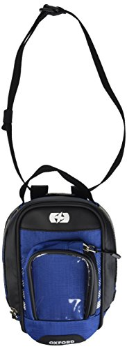 (Oxford OL297 Blue 1 L Tank Bag (M1R Magnetic Mount Micro),1 Pack)