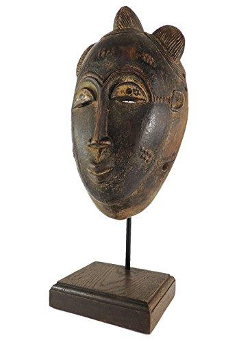 Kpan Mblo Custom Stand Ivory Coast African Art ()