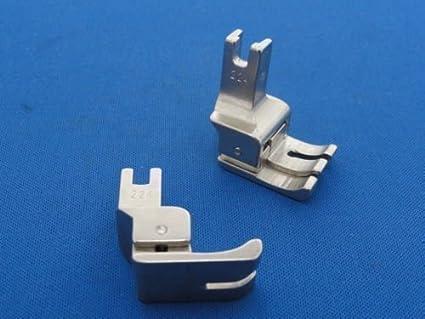 Para máquina de coser Industrial para zurdos compensar el pie 0,64 cm