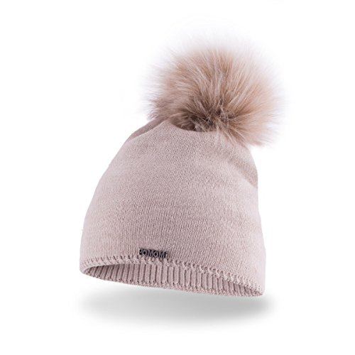 - PaMaMi Ladies Thermal Winter hat Warm beanie Universal size Skin-friendly