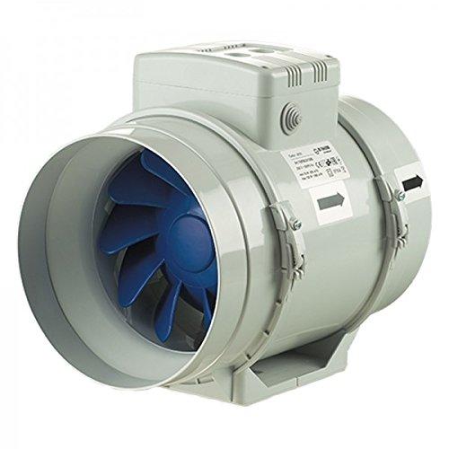 Blauberg Turbo US 200Pro–805/1080M3/H Abzieher Spiralbohrer mit Schalter von Geschwindigkeit