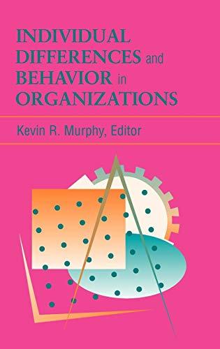 es and Behavior in Organizations ()