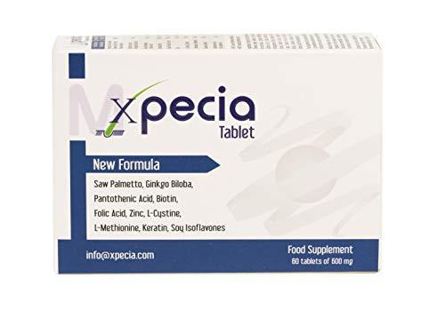 XPECIA FOR MEN ANTI HAIR LOSS DHT BLOCKER NEW HAIR GROWTH FORMULA 60 TABLETS
