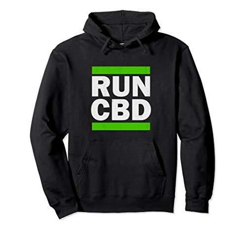 CBD Hoodie - RUN CBD Hoodie- CBD Oil ()