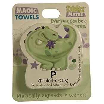 Didnt Have Your Name Didn/'t Have Your Name John Hinde Gifts 006140015 John Hinde DinoMates Magic Towel
