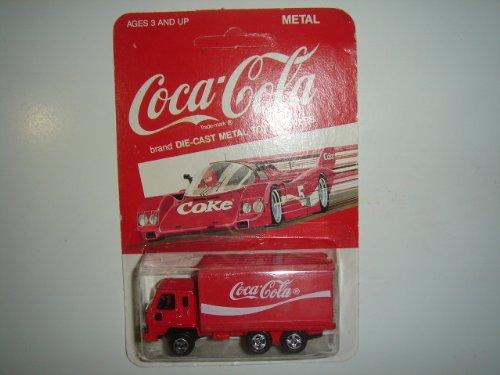 Vintage 1979 Hartoy Coca Cola Delivery Truck Red Made In (Coca Cola Delivery Truck)
