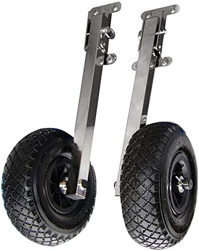 Adjustable Boat Transom Launching Dolly Wheels [Davis Instruments] Picture