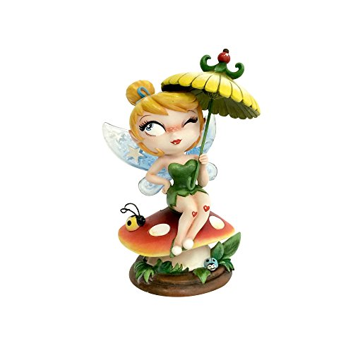 "The World of Miss Mindy Tinker Bell from ""Peter Pan"" Stone Resin Figurine"