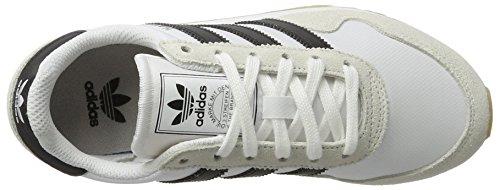 adidas Haven J, Zapatillas de Deporte Unisex Niños Blanco (Ftwbla / Negbas / Ftwbla)