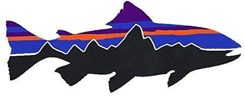 Patagonia Mudder symbol sticker computer