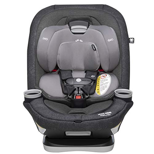 Maxi-Cosi Magellan Xp Max All-in-One Convertible Car Seat with 5 Modes & Magnetic Chest Clip, Nomad Black, One Size