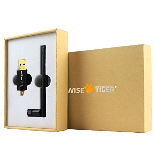 WISE TIGER Wifi Adapter Ac 600Mbps Usb Dual Band 5G/2.4G Wireless Network Lan Adapter with High Gain External Antenna for Windows XP, Win Vista,Win 7,Win 8.1, Win 10, Mac OS X 10.6-10.12 by WISE TIGER (Image #5)
