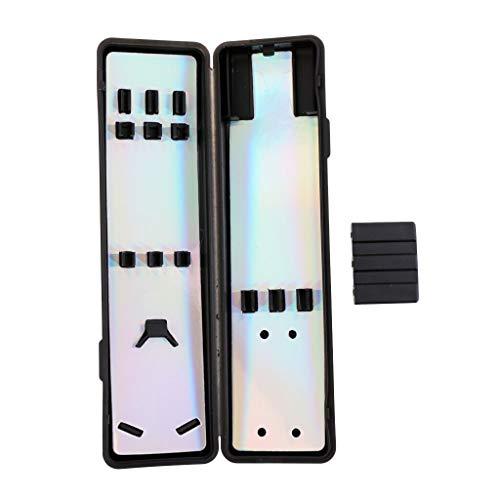 STORE-HOMER - Dart Flights Shafts Tips Storage Case Collection Box Dart Accessories ()