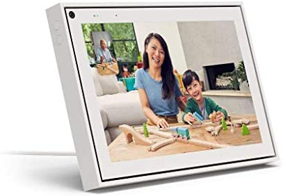 """Facebook Portal – Smart Video Calling 10"""" Touch Screen Display with Alexa – White"""