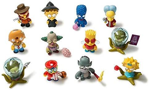 Zombie Krusty-THE SIMPSONS TREEHOUSE OF HORRORS Vinyl Mini Figure KIDROBOT