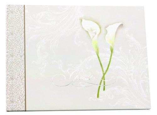 Hortense B. Hewitt Wedding Accessories Calla Lily Guest Book
