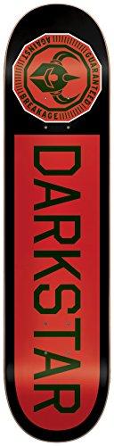 高さ形状乳製品DARK STAR/ダークスター スケートボードデッキ TIMEWORKS RHM BLACK/REDFADE 8.25 DECK スケボーSK8