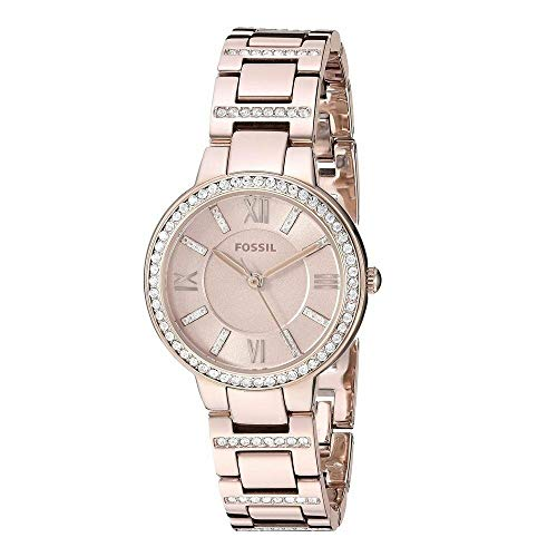 Fossil Women's Virginia - ES4482 Pink One Size ()