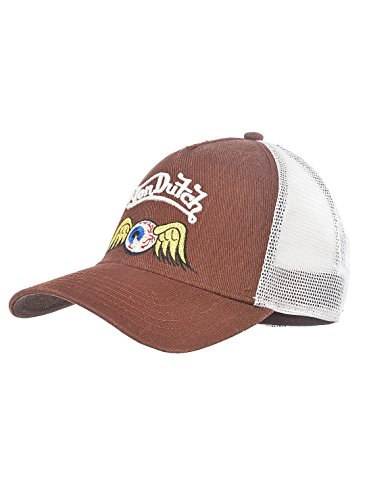 White béisbol Taille Brown Hombre Von Unique de Gorra para Dutch Marrón zW008tA