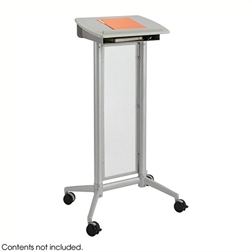 Safco Products 8912GR Impromptu Lectern, Gray