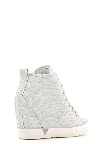 Guess P7oyhwqto Sneakers Zapatillas Silve Para Mujer Plateado HaxqO