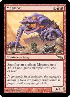 Megatog (Magic the Gathering : Mirrodin #100 Rare)