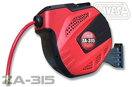 Soporte de manguera de aire comprimido auto enrrollable CLAVESA ZA315. 15m