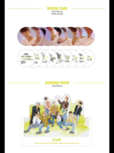 1THE9 - XIX (1st Mini Album) CD+104p Booklet+2Photocard+12Lyrics Book+1Speical Card+1Standing Photo+Folded Poster by POCKETDOL STUDIO (Image #4)