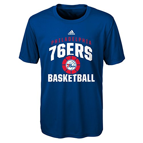 fan products of NBA Rep Big Performance Short Sleeve Tee-Royal-XL(18), Philadelphia 76ers