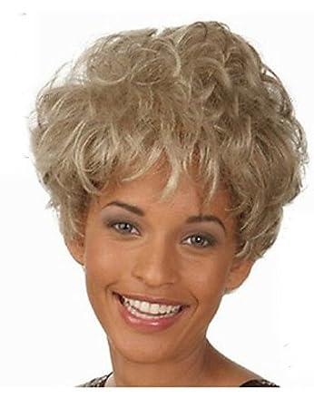 Pixie Frisur Synthetische Perucken Haarschnitt Geraden Perucken