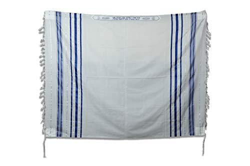 TALITANIA Traditional Pure Wool Tallit Prayer Shawl Tallis Gadol