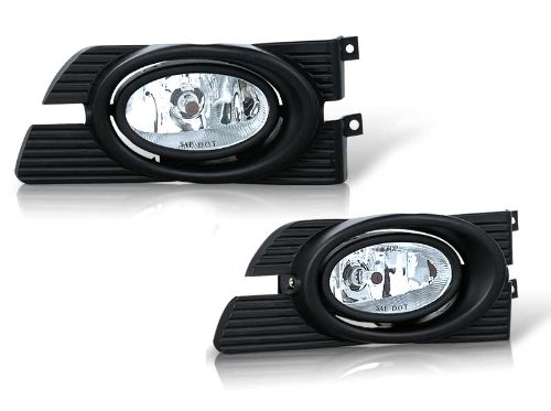 98-02 HONDA ACCORD 4DR OEM FOG LIGHT - C - Honda Accord Fog Light Installation Shopping Results