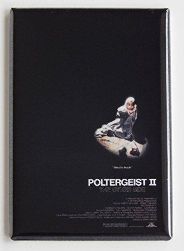 Poltergeist 2 Movie Poster Fridge Magnet (2 x 3 inches) ()