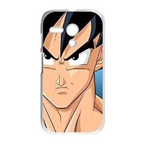 Motorola G Cell Phone Case White Dragon Ball Z GokuSLI_794224