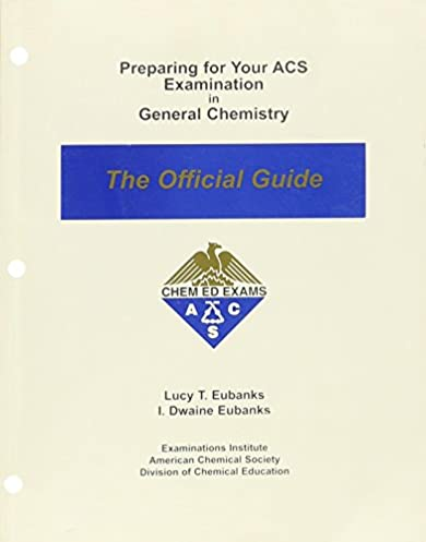 preparing for your acs examination in general chemistry the rh amazon com american chemical society biochemistry exam study guide american chemical society test study guide