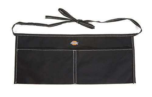 Dickies Work Gear 57078 Black 2-Pocket Canvas Apron (Tool With Awp Belt Suspenders)