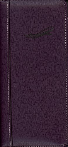 Pierre Belvedere Executive Travel Wallet, Plum (071490)