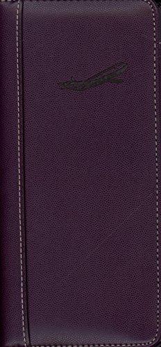 Pierre Belvedere Executive Travel Wallet, Plum (071490)