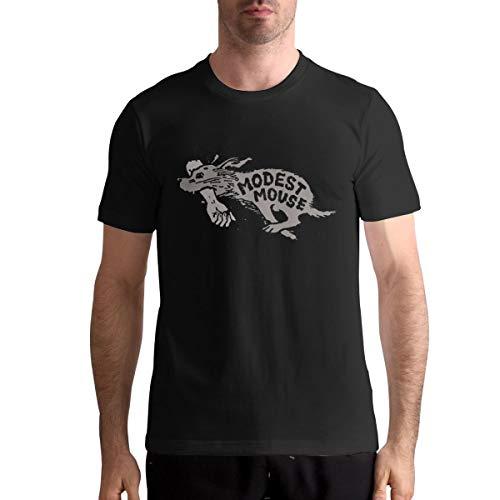 Modest Mouse Logo Mans T Shirt Men's T-Shirt 100% Cotton Tshirt The Latest 2019 XXL Black