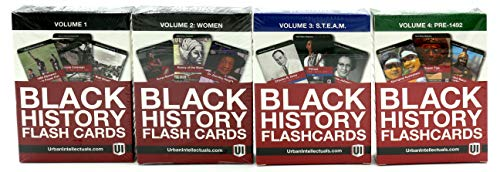 Urban Intellectuals Black History Flashcards (52 Educational for sale  Delivered anywhere in USA