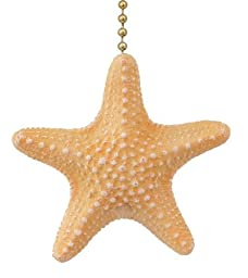 Starfish Beach Summer Ceiling Fan Pull Light Chain
