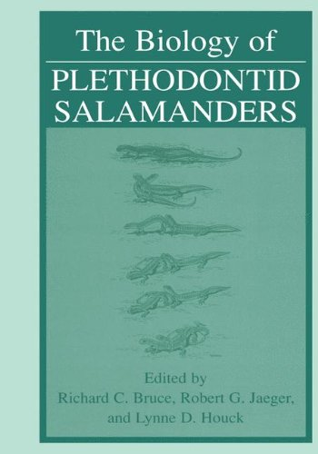 Book cover from The Biology of Plethodontid Salamanders by Robin Armstrong et al