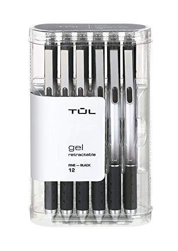 Retractable tulle Gel pens 0.5 mm Fine Point